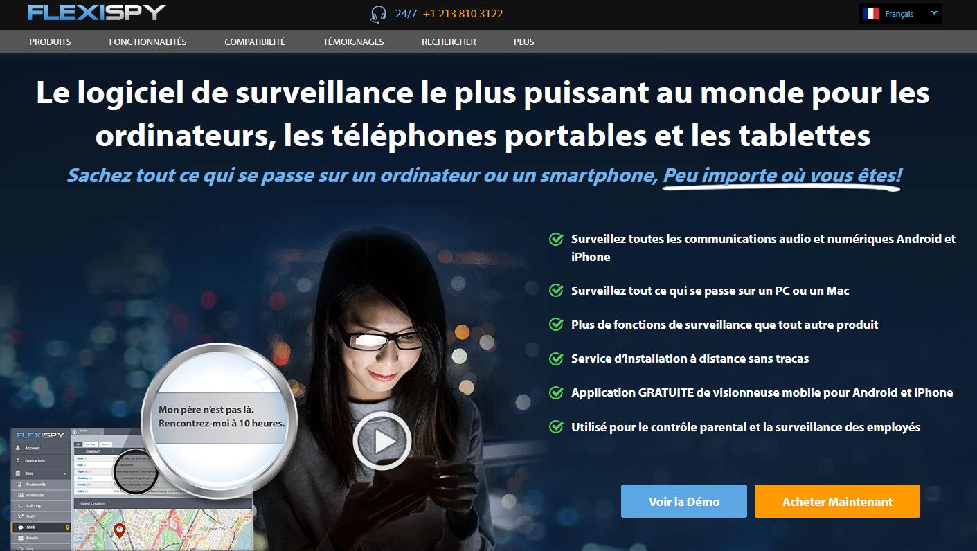 Flexispy logiciel espion